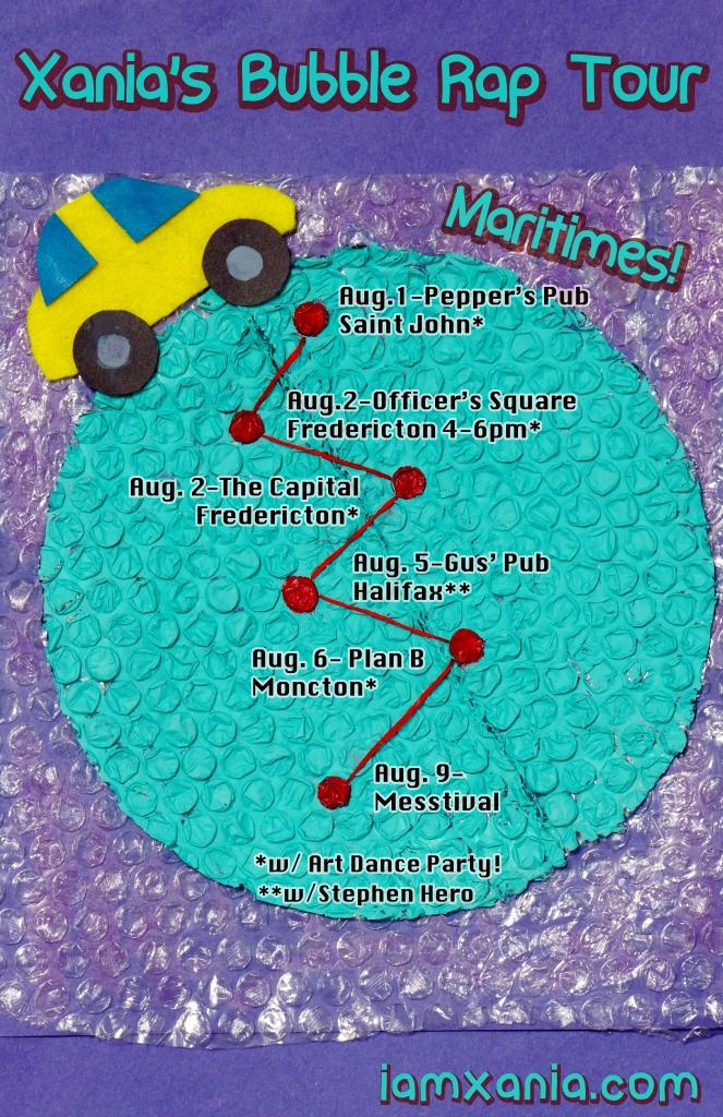 Maritimes Bubble Rap poster