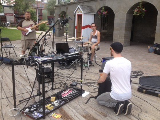 Art>Dance>Party Sound-checking in Fredericton