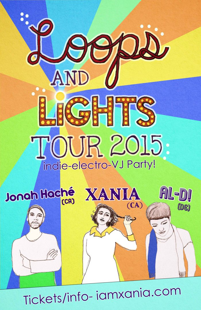 loops and lights for xania